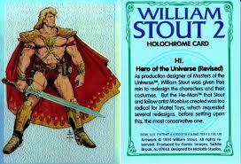Trading Card Designer Masters Of The Universe The 1987 Film William Stout Designs