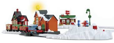 amazon com thomas the train trackmaster thomas8217 christmas