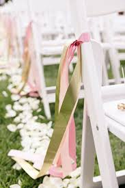 chair ribbons 8 awesome and easy ways to decorate wedding chairs