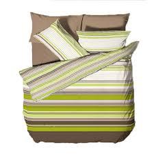 Green Double Duvet Cover Green Stripe Duvet Cover Sweetgalas
