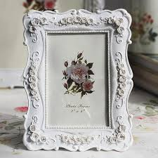 photo picture frames rose flower shabby chic white vintage gift 7