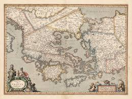 Chicago Map 1890 by 1653 Hellas Seu Graecia Sophiani U2013 Hjbmaps Com Harlan J Berk