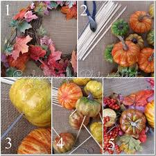 confessions of a plate addict pottery barn inspired fall wreath