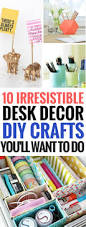 Diy Student Desk by 10 Irresistible Diy Crafts For Your Desk Decor You U0027ll Really Want