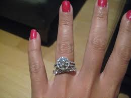 eternity ring finger with 2ct or more rings with a 6 size ring finger weddingbee