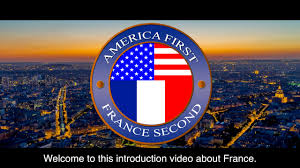 france welcomes trump in his own words america first france