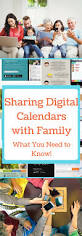 sharing digital calendars with the family what you need to know