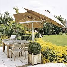 offset umbrella clearance