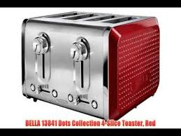4slice Toasters Toaster Ovens Best Rated Bella 13841 Dots Collection 4 Slice