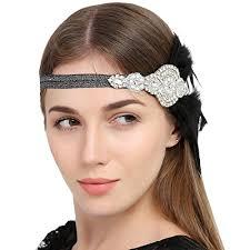 vintage headbands faybox vintage 1920s flapper headbands gatsby feather headpieces