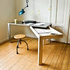 Small Space Desk Desks For Small Spaces With Regard To Solution The Narrow Home