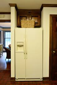 Kitchen Cabinet Refrigerator Removing Some Kitchen Cabinets U0026 Rehanging One Young House Love