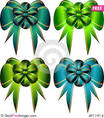 decorative bows vector set decorative bows free stock images photos 4911914