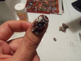 diy friday comic book acrylic nails set to stunning