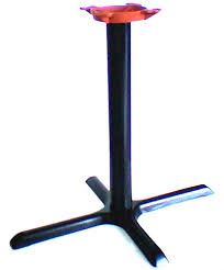 X Table Base Restaurant Table Bases Cast Iron Table Stands
