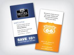Hotel Business Card Chicago Business Cards Business Card Design Print Collateral