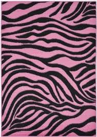 Zebra Print Rug With Pink Trim Pink Zebra Rugs Rugs Ideas