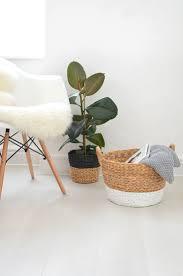 wicker home decor best 25 wicker baskets ideas on pinterest pillow storage spare