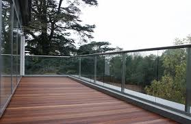 Glass Banisters Cost Glass Balconies In Hereford Glass Balustrades