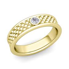 fancy wedding rings diamond wedding anniversary ring in 14k gold fancy wedding band
