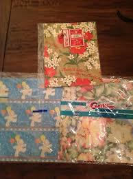vintage gift wrap new nos vintage gift wrap wrapping paper gordon fraser trains