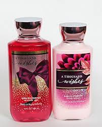 a thousand wishes bath and works a thousand wishes gift set of shower gel and