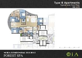 floor plan forest spa by omaxe