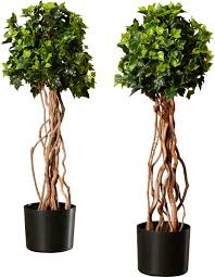 Topiary Frames Online Darby Home Co Artificial English Ivy Topiary Tree In Pot U0026 Reviews
