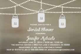 couples shower bridal wedding couples shower invitation jar any colors