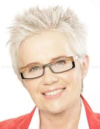 short hairstyles over 50 short spiky hair for women over 50