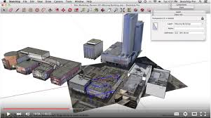 tutorial sketchup modeling watch site modeling in sketchup tutorial video fluidray