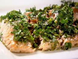 Ina Garten Roast Beef Roasted Salmon With Green Herbs Recipe Ina Garten Food Network