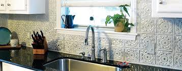 Embossed Tin Backsplash by Painting U0026 Caulking Tin Tiles American Tin Ceilings