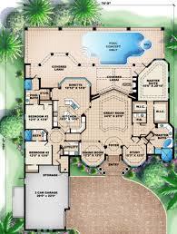 italian house plans main floor ideas for retirement house pinterest house plans