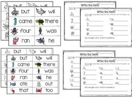 Room Dolch Word Games - write the room freebie 12 primer dolch sight words by tracy pippin
