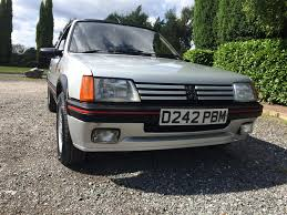 peugeot 105 for sale used 1987 peugeot 205 gti for sale in greater manchester pistonheads