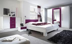 schlafzimmer kleiderschrank schlafzimmer komplett 4 teilig mit kleiderschrank weiß lila neu
