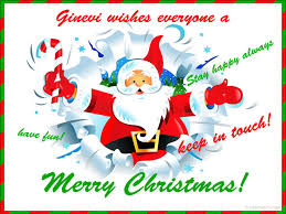 ginevi wishes everyone a merry stay happy always