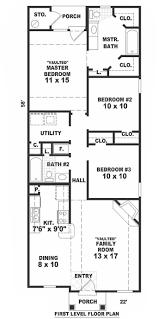 narrow cottage plans house plan house narrow bungalow house plans narrow bungalow