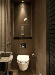 guest bathroom remodel ideas masculine guest bathroom design ideas with brown color and modern