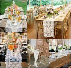 lace table runners wedding unique table runner ideas bajan wed