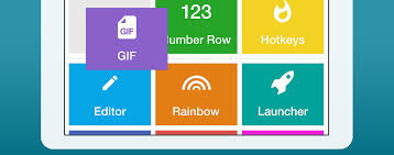 layout download android download the fleksy keyboard android app w gif custom layout