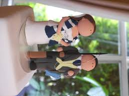 fishing wedding cake toppers cake topper friday soccer loving and fishing loving groom