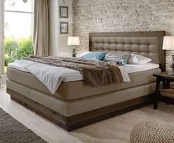 Schlafzimmerm El Ohne Bett Kunstlederbezogenes Boxspringbett