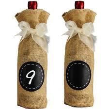 gift packaging for wine bottles burlap wine bottle gift packaging bag pack of 3 chagne wine