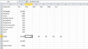 How To Make Budget Spreadsheet How To Budget Your Money In Excel Tech Advisor