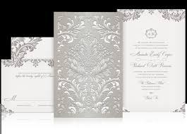 laser cut wedding programs luxury wedding invitations marialonghi
