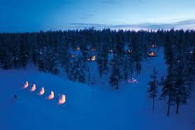 sleep under the northern lights glass igloo in finland to sleep under the northern lights cyber