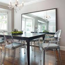 mirror dining room table house dining room with crystal chandelier and world market linen