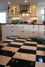 black and white tile kitchen ideas tiles stunning big kitchen tiles big kitchen tiles large format
